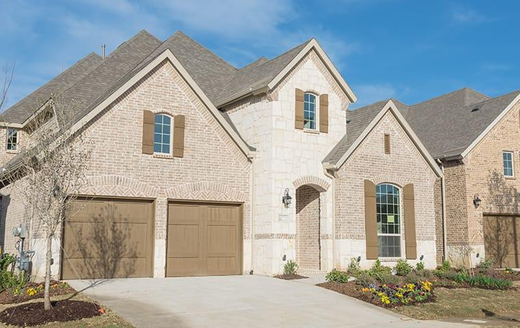 street view of a suburban home in little elm texas