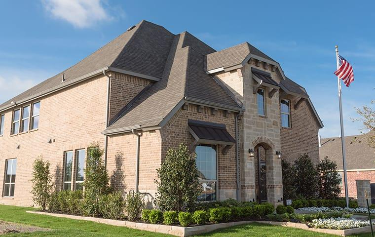 street view of a home in plano texas