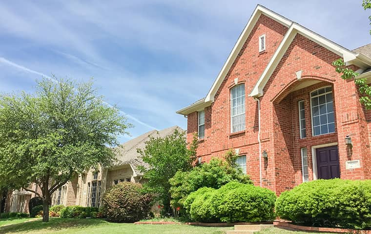 street view of a home serviced by cantu pest control in dallas texas