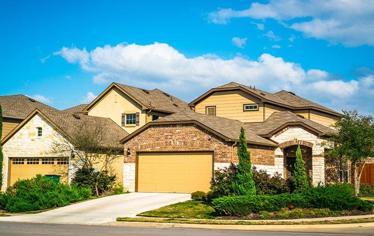 street view of a suburban home in the colony texas