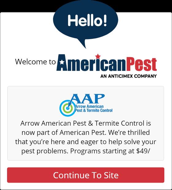arrow american pest control