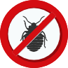 no bed bugs sign