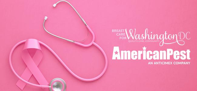 American Pest and Breast Care for Washington Breast Cancer Awareness Month donation