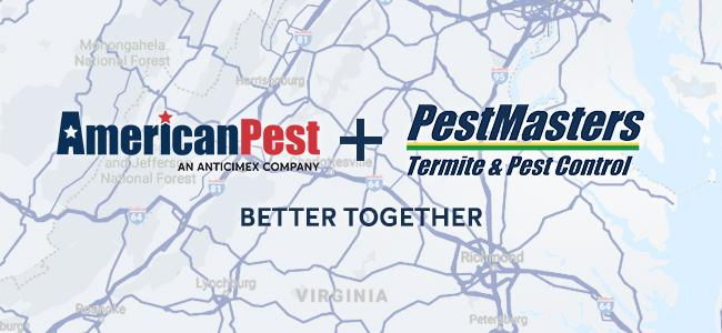 american pest acquires pest masters richmond va