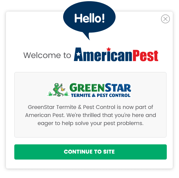 Welcome to GreenStar by American Pest