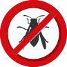 no stinging insects sign