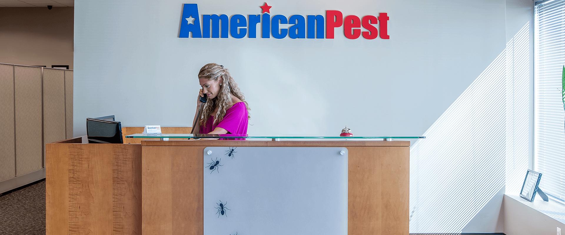 american pest front desk