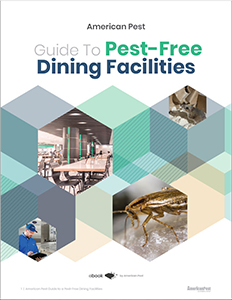 guide to pest free dining facilities