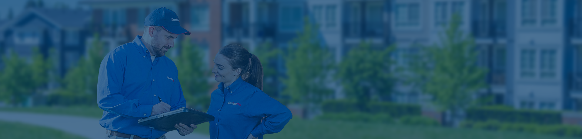 american pest techs evaluating your md property