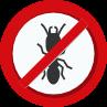 no termite sign
