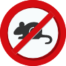 no mice sign