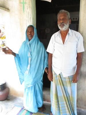Settu and his wife Chinnaponnu