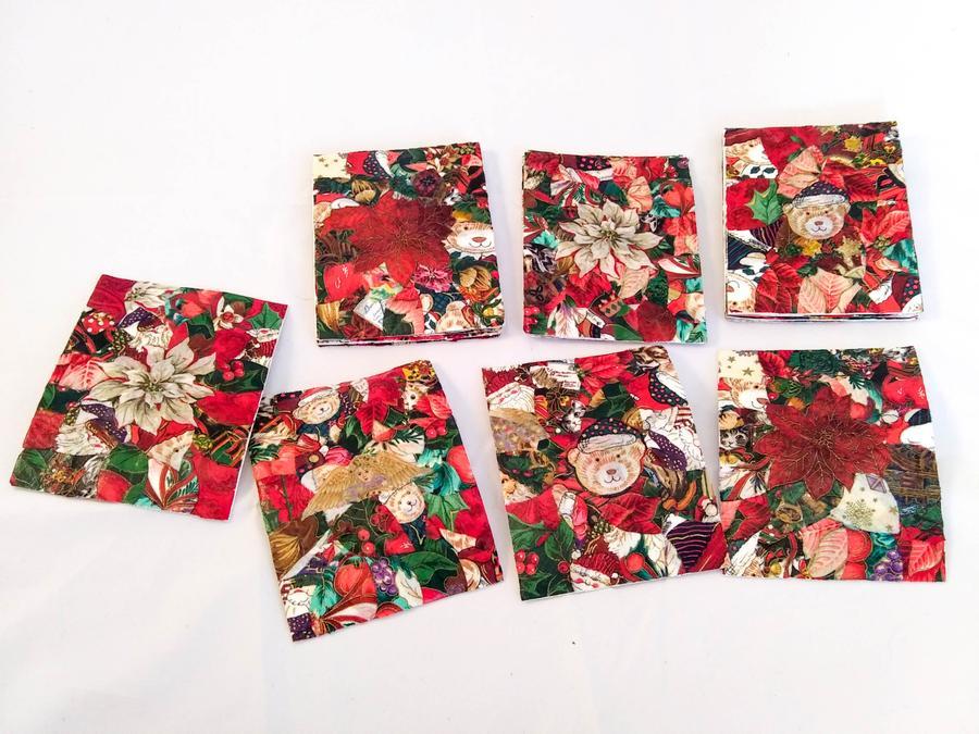 Haiti Christmas Decoupage Cards