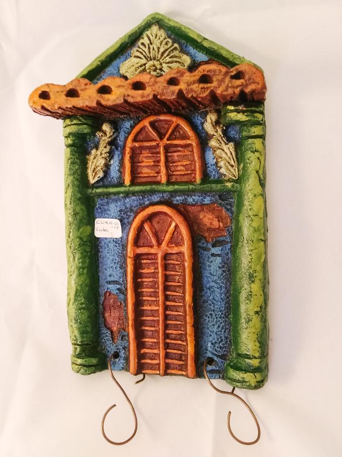 Cuba Ceramic House Key Holder