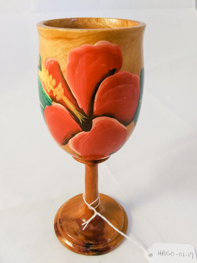 Haiti Wooden Goblet