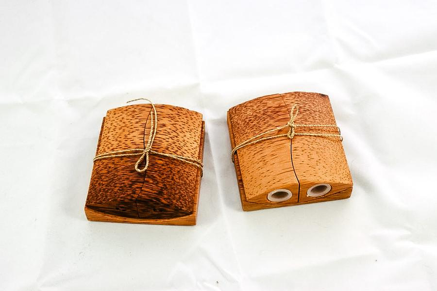 Indonesia Wooden Salt and Pepper Shakers