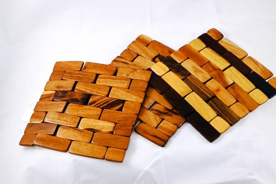 Nicaragua Wooden Trivets