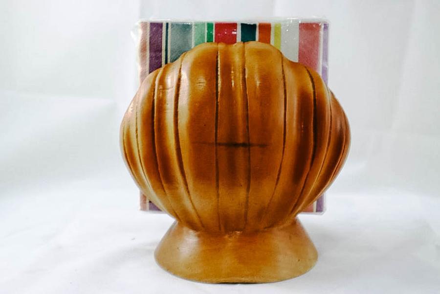 Philippines Wooden Seashell Napkin Holder