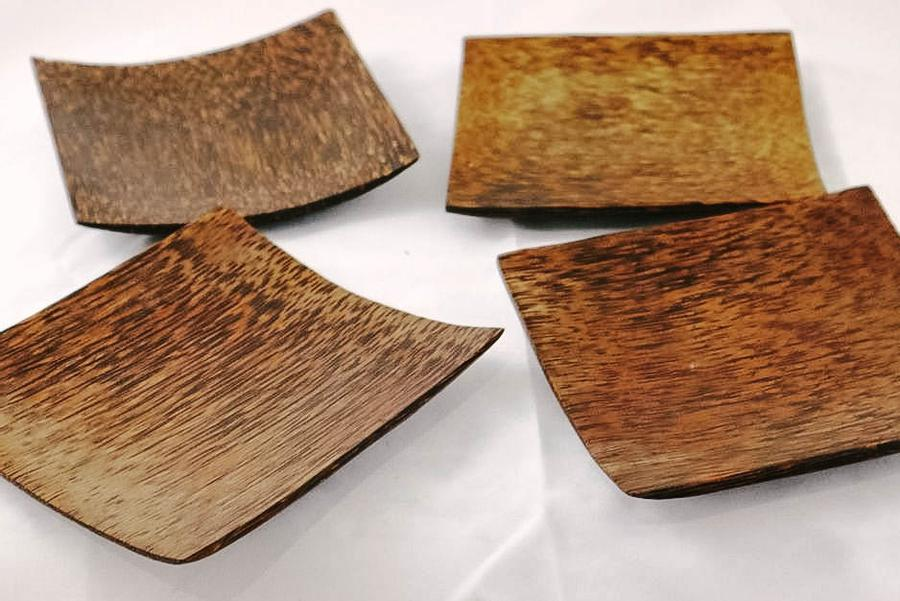 Indonesia Large Square Wooden Plates