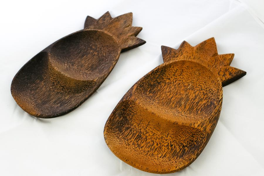 Indonesia Wooden Pineapple-Shaped Platter