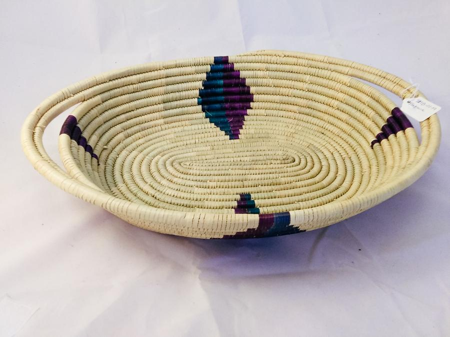 Tanzania Large Woven Basket Tray