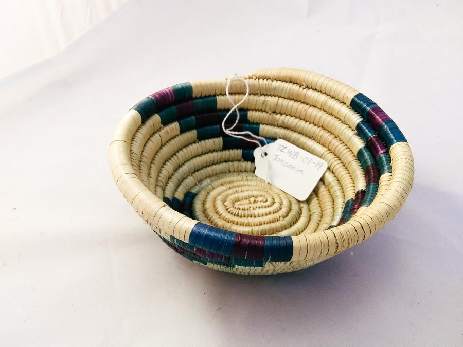 Tanzania Small Woven Basket