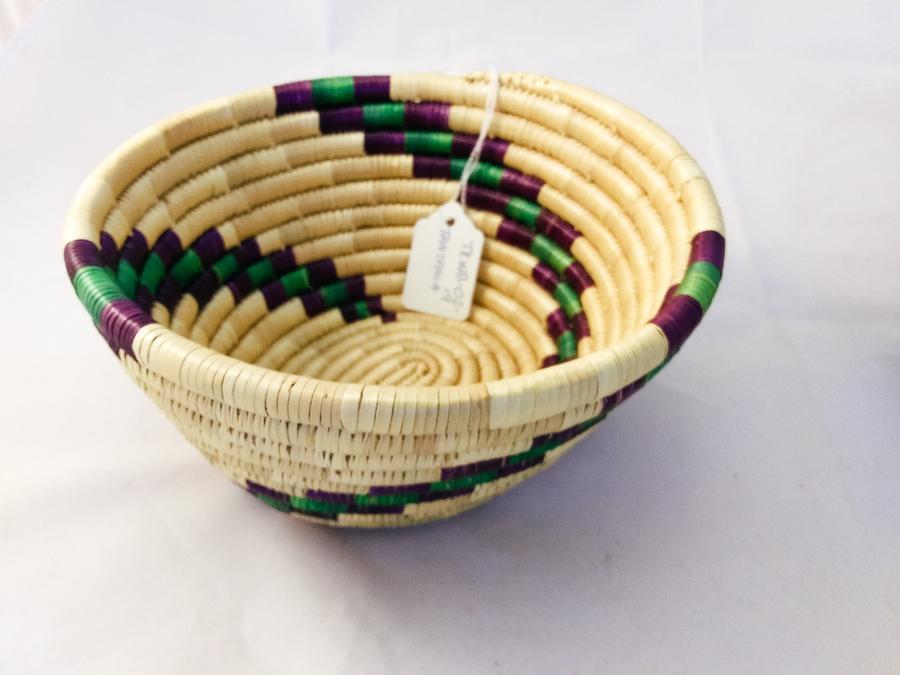 Tanzania Medium Woven Basket