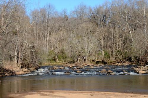 Reedy River at Charlie Lollis Park (Credit: Dick Carr)