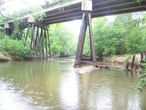 Twelve Mile River at Liberty Highway (Credit: Upstate Forever)