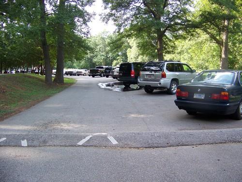Lakehurst Street parking area (Credit: Upstate Forever)