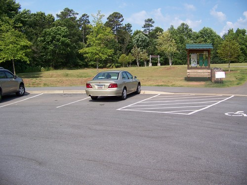 Spanco Road parking area (Credit: Upstate Forever)