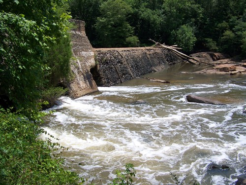 Cedar Falls Dam (Credit: Upstate Forever)