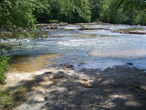 shoals at Cedar Falls Park (Credit: Upstate Forever)