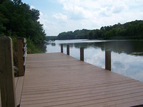 dock at Karl H. Dixon Memorial Park (Credit: Upstate Forever)