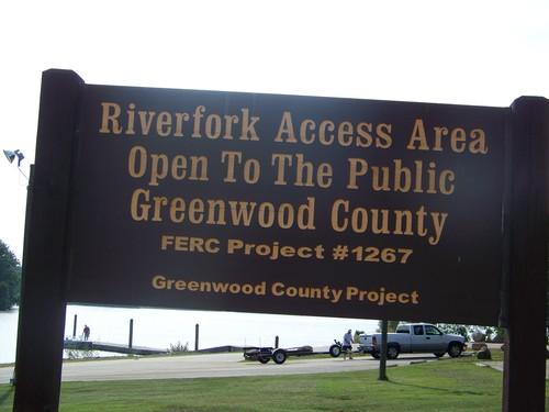 Riverfork Landing sign (Credit: Upstate Forever)