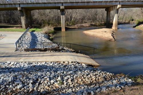 Charlie Lollis Memorial Park boat ramp (Credit: Dick Carr)