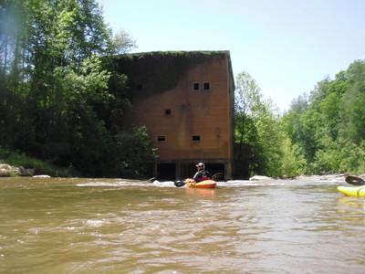 along Twelve Mile Creek (Credit: Upstate Forever)