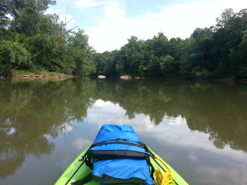 Flat Water Paddling (Credit: Brandon Burdette)