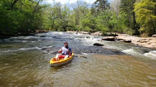 Some fun rapids