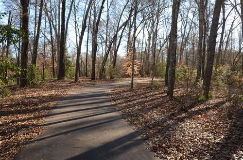 walking trail at Charlie Lollis Park (Credit: Dick Carr)
