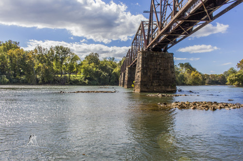 Palmetto Trail crossing over the Broad River (Credit: Davey Borden, via Flickr (CC BY-ND 2.0))