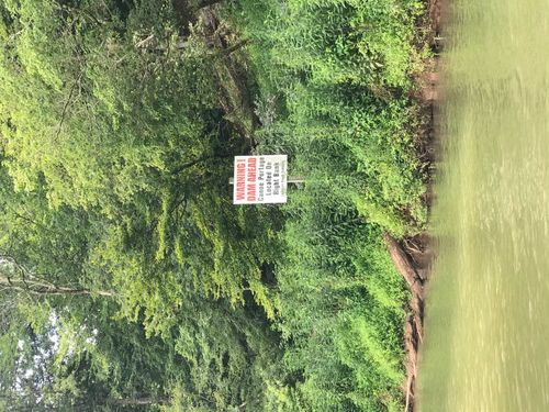 Dam warning sign (Credit: Pacolet River Outfittets)