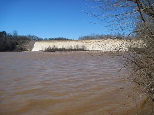 Ninety Nine Islands Dam (below) (Credit: Upstate Forever)