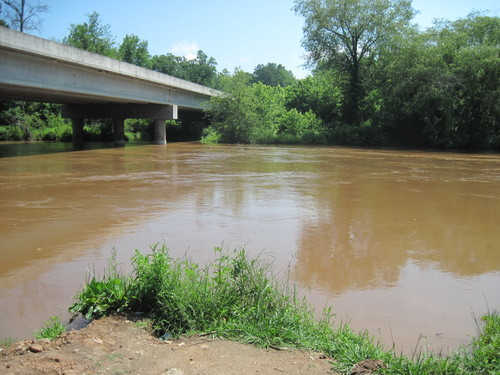Saluda River at Cooley Bridge Road (Credit: Upstate Forever)
