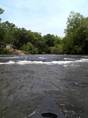 small rapids along the trip (Credit: Upstate Forever)