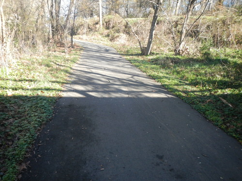 Swamp Rabbit Trail above Mauldin Road bridge (Credit: Upstate Forever)
