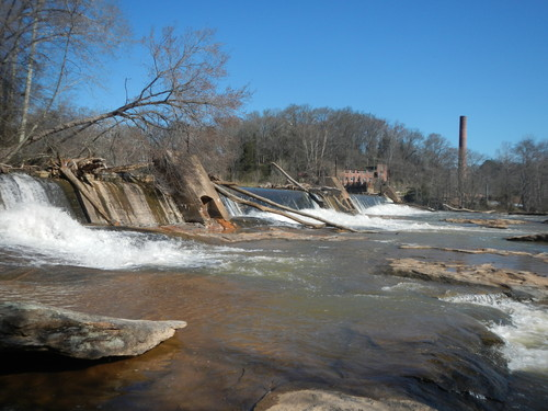 Inman Mills Dam (Credit: Upstate Forever)