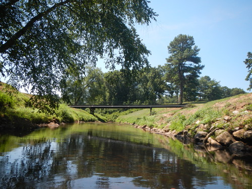 Reedy River through Greenville Country Club (Credit: Upstate Forever)
