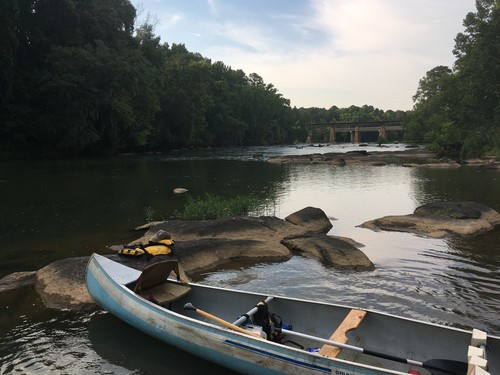 Ole Lady Blue on the Broad River (Credit: Tanner Arrington)