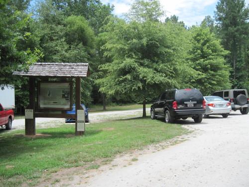 Horseshoe Falls Parking Area (Credit: Upstate Forever)